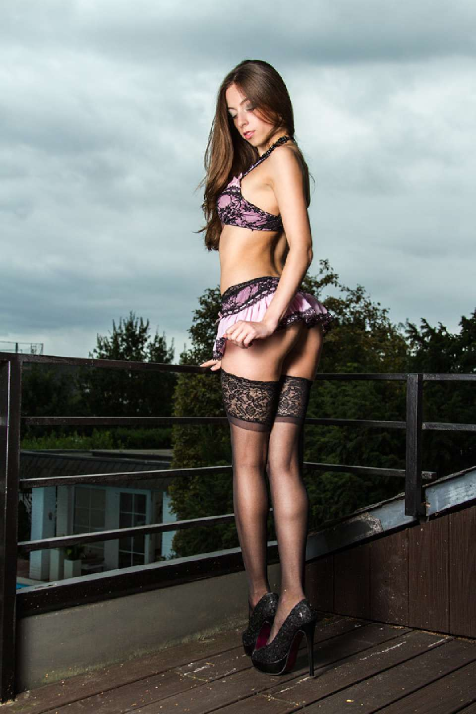 Model Simi Bodyliciouz Calendar 2015 Picture in Lingerie shot by Sven Rodriguez