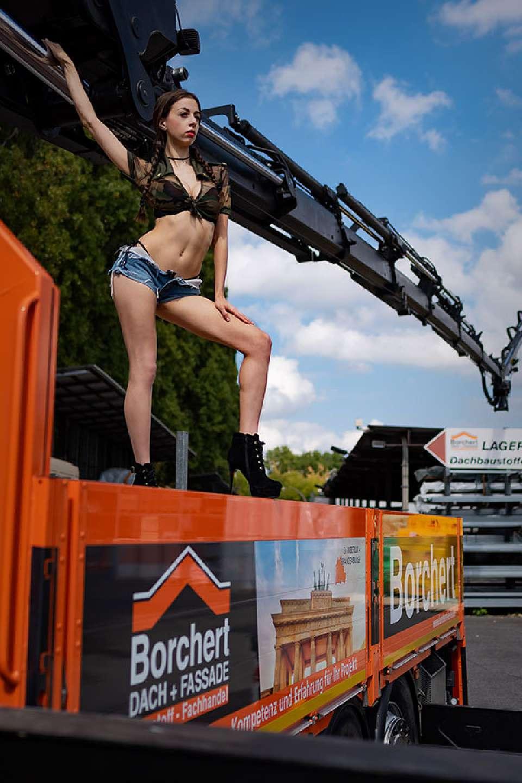 Model Simi Handwerker Kalender Produktion Borchert 2019